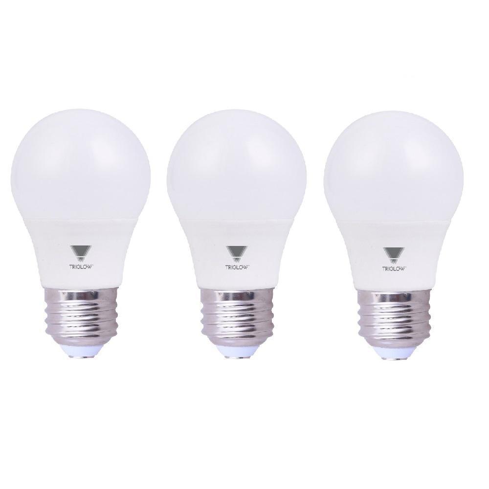 6.5-Watt (40-Watt Equivalent) A15 LED Appliance Light Bulb, 600 Lumens Soft White 3000K (3-Pack)