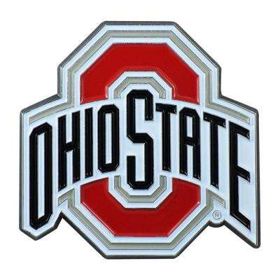 3 in. x 3.2 in. NCAA Ohio State University Color Emblem