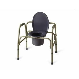 Bariatric Folding Bedside Commode