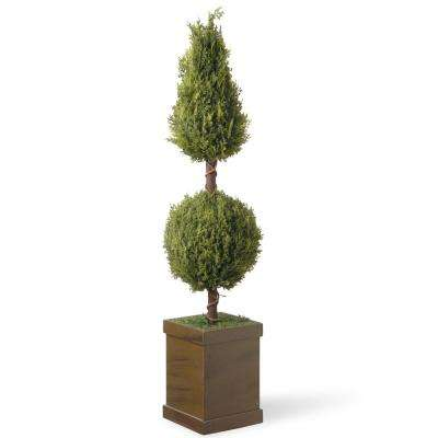 47 in. Cone and Ball Entrance Tree