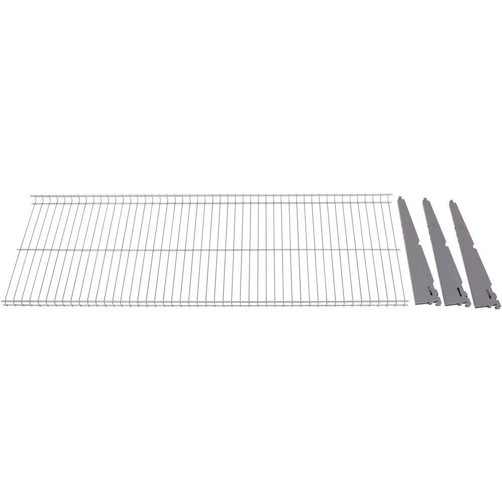 FastTrack Garage 1-Shelf 48 in. x 16 in. Wire Shelf Add On kit
