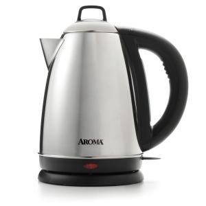 Click here to buy AROMA 6-Cup Electric Kettle by AROMA.