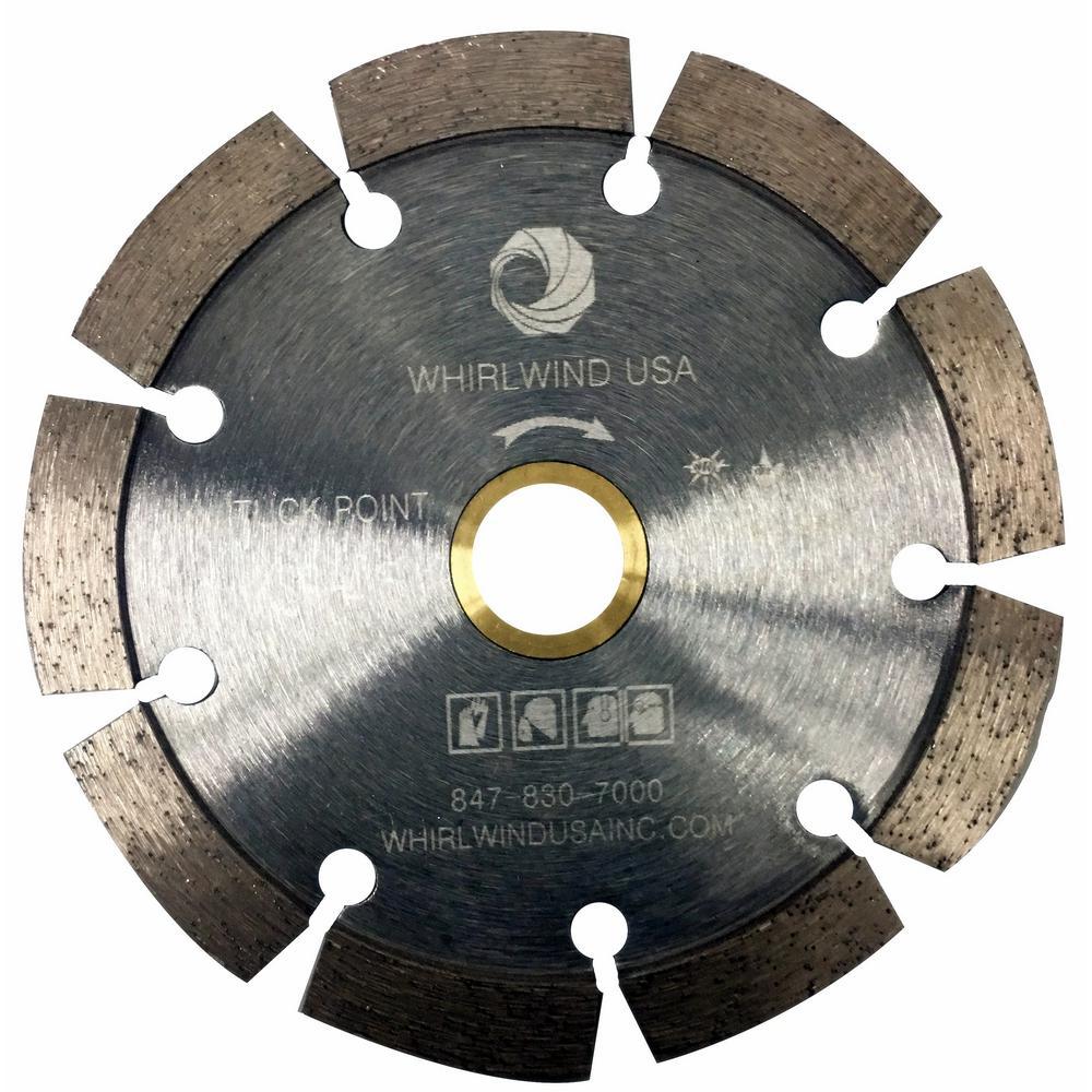 Ridgid 10 in segmented diamond blade hd sg10cp the home depot 9 teeth segmented tuck point diamond blade for dry or keyboard keysfo Images