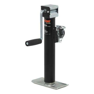 """Pipe-Mount Swivel Jack with Side Handle (2,000 lbs., 10"""" Travel)"""