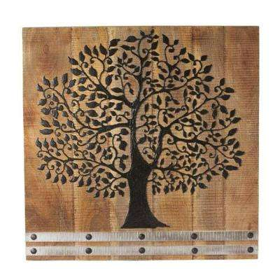 "30 in. H x 30 in. W ""Arbor Tree of Life"" Wall Art"
