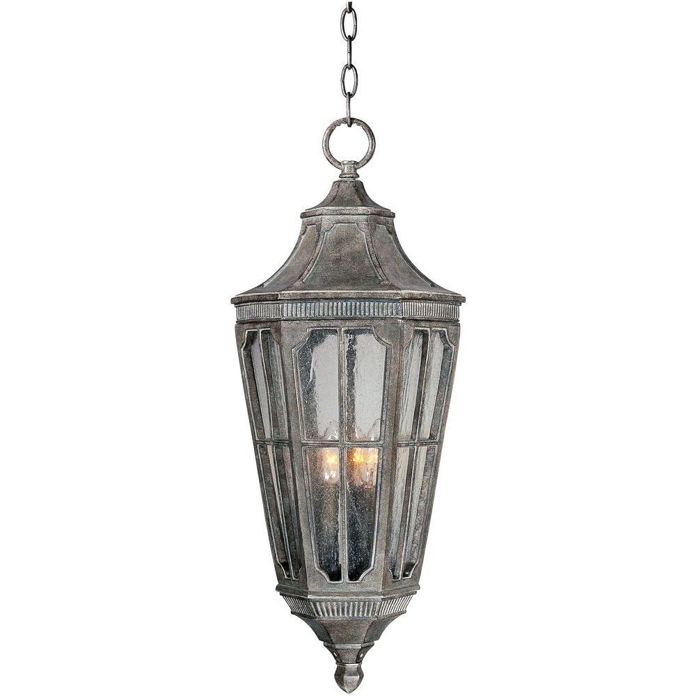 Beacon Hill Vivex 3-Light Sienna Outdoor Hanging Lantern