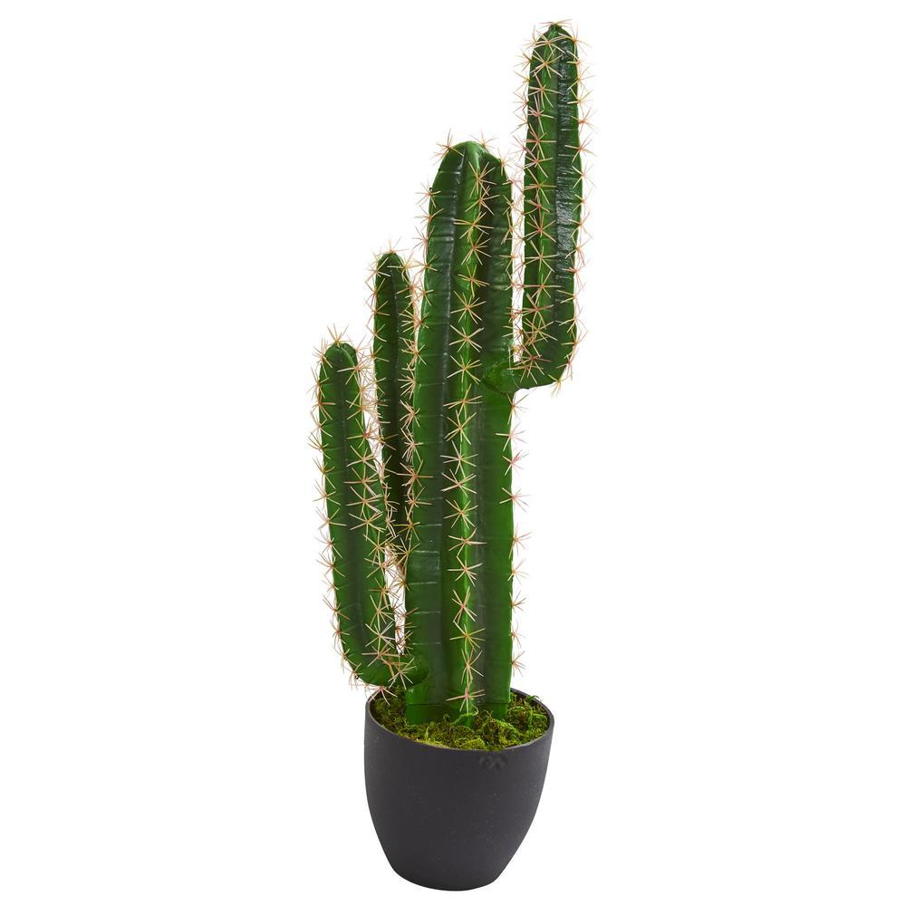 Indoor 3 ft. Cactus Artificial Plant