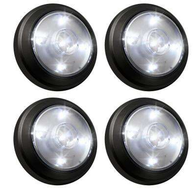 4-Light LED All Occasion Outdoor Gazebo Camping Tent Spot Light (2-Pack)