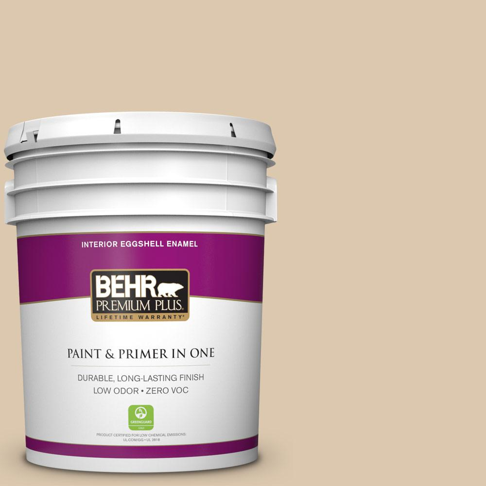 BEHR Premium Plus 5-gal. #N270-2 Lentil Eggshell Enamel Interior Paint