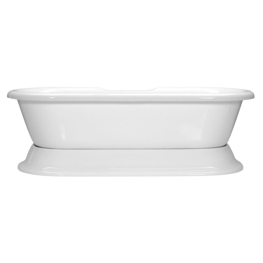 Serenity 47 - 6 ft. Center Drain Freestanding Soaking Tub in