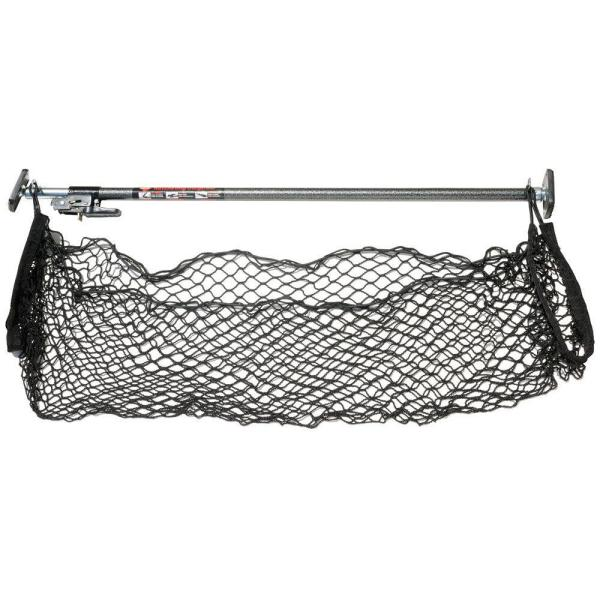 Ratcheting Cargo Bar with Storage Net