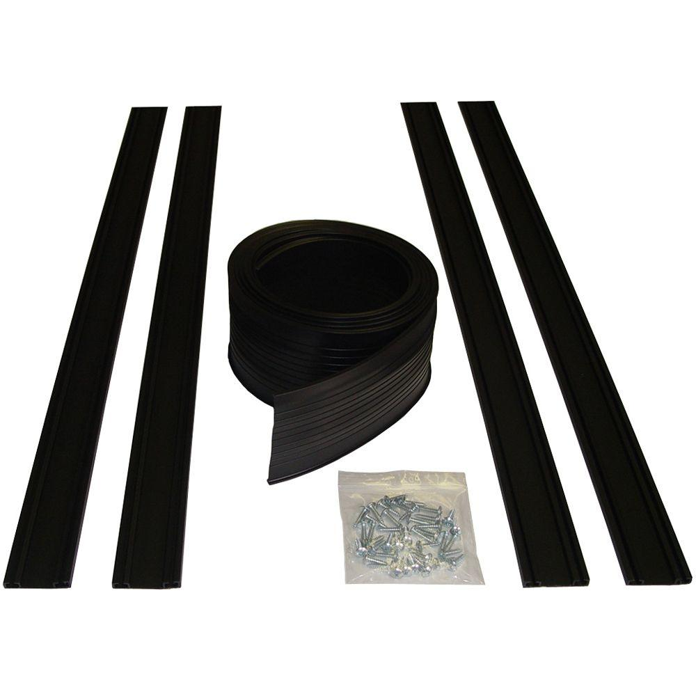 Proseal 18 Ft Garage Door Bottom Seal Kit 54018 The Home Depot