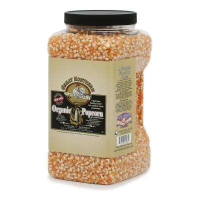 112 oz. All-Natural Organic Yellow Gourmet Popcorn