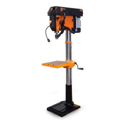 13 Amp 17 in. Twelve-Speed Floor Standing Drill Press