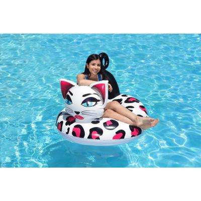 48 inch Pretty Kitty Swimming Pool Float Tube
