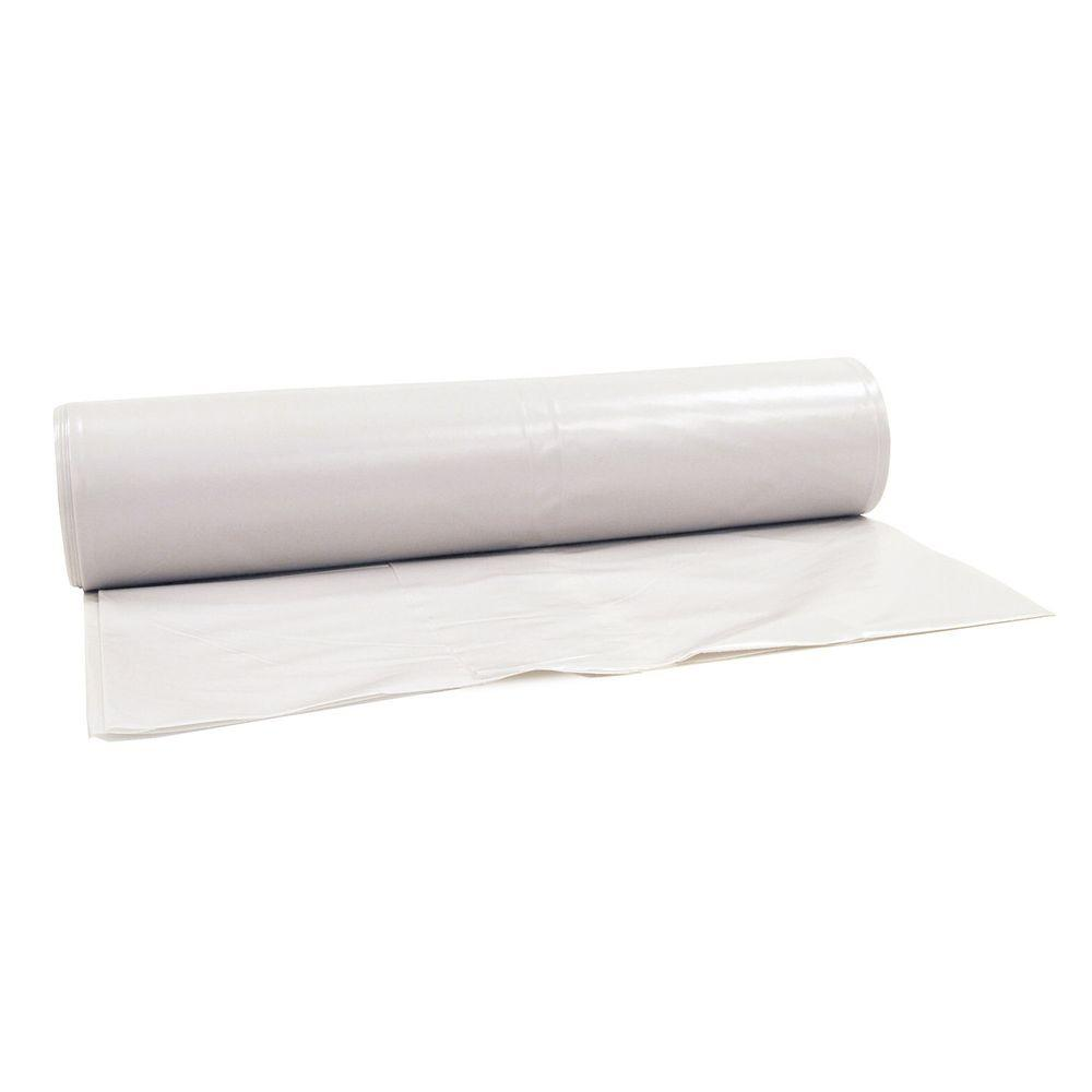 Husky 20 Ft X 100 Ft 10 Mil Flame Retardant Plastic Sheeting 12 Rolls Pallet Cffr1020 Pallet The Home Depot