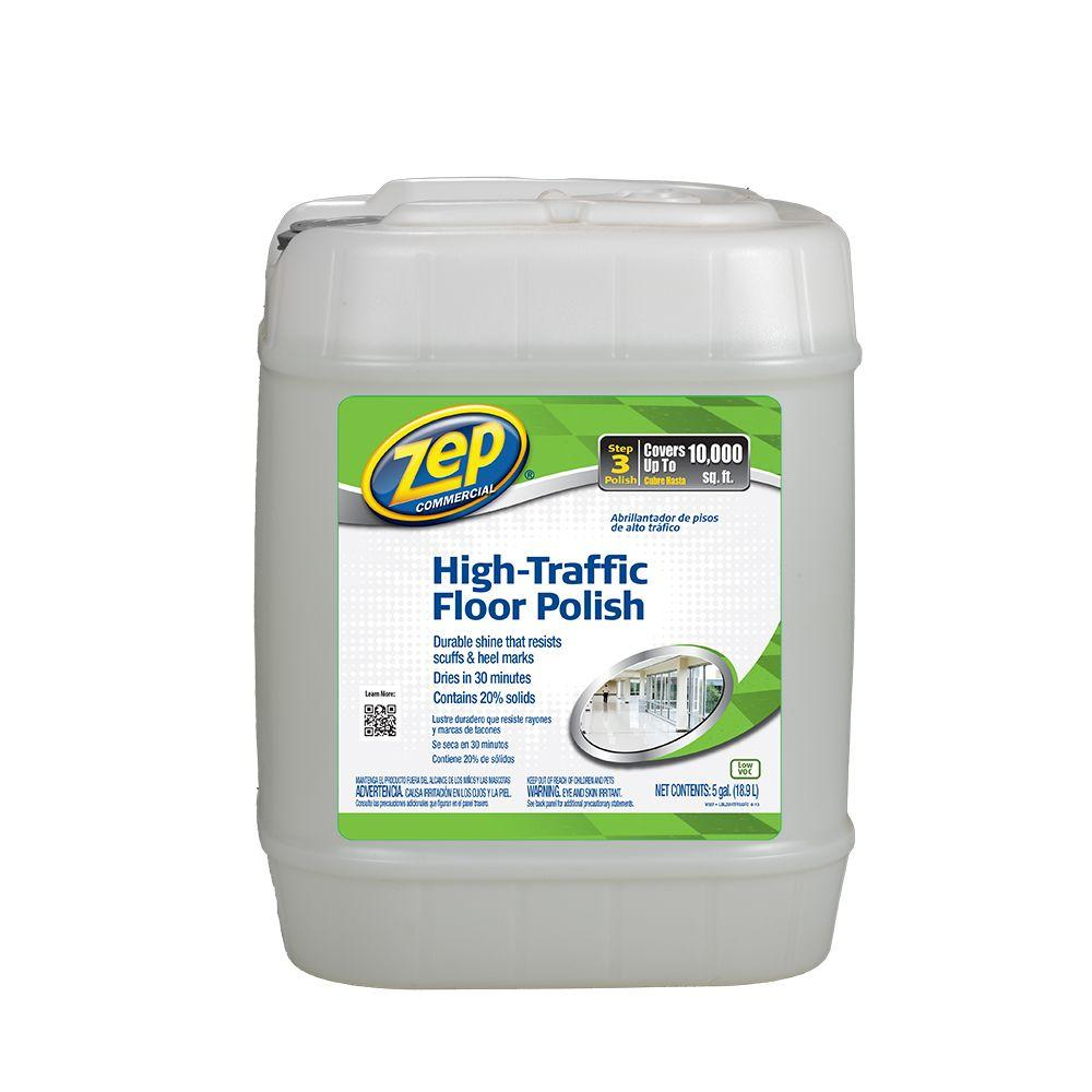 Beautiful ZEP 5 Gallon High Traffic Floor Polish