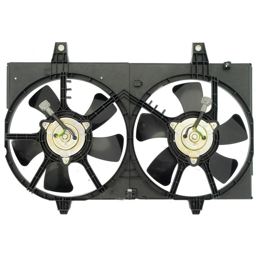 Oe Solutions Dual Fan Assembly Without Controller 620 421 The Home Depot