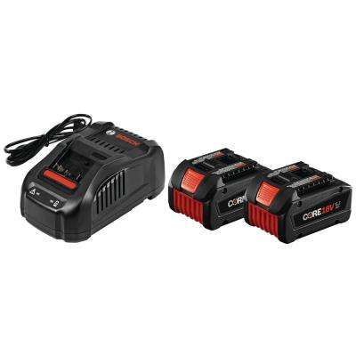 CORE 18-Volt 6.3Ah Lithium-Ion Starter Kit with (2) CORE 18-Volt Batteries and Charger