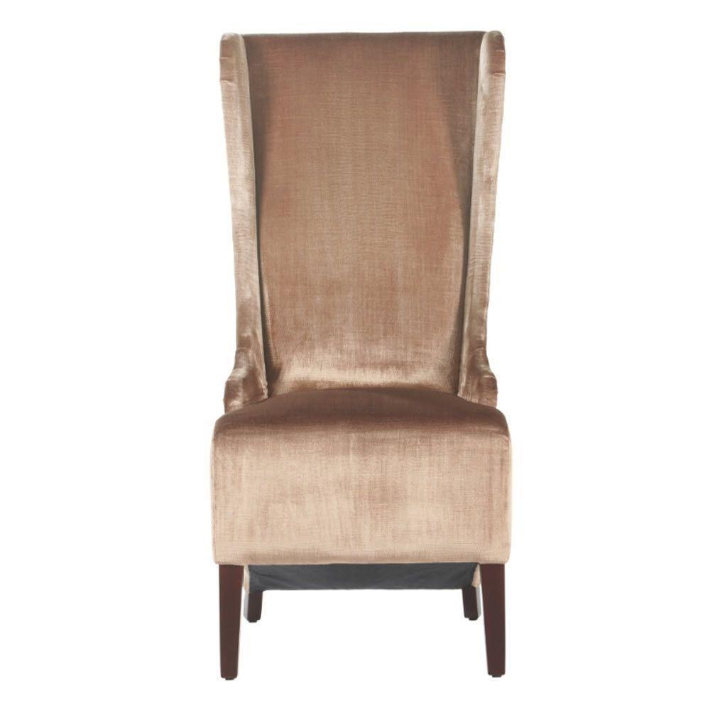 Home Decorators Collection Phillips Bronze Velvet Highback Chair