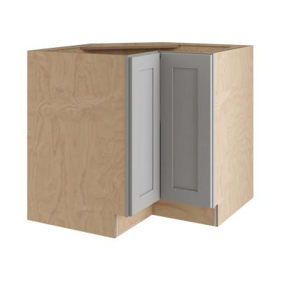 Tremont Base Cabinets in Pearl Gray – Kitchen – The Home Depot