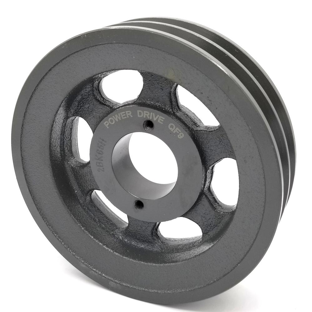 V-Groove Drive Pulley - 5//8 Bore Cast Iron 7 Dia