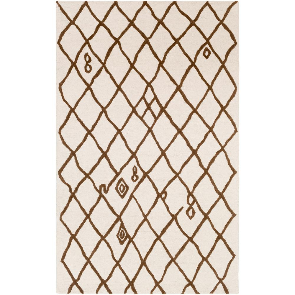 Ghana Zoey Ivory 5 ft. x 8 ft. Indoor Area Rug