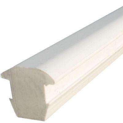3.75 in. Silicone Glass Spacer for White Glass Baluster Railing.