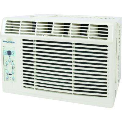 6,000 BTU Window-Mounted Air Conditioner with LCD Remote, ENERGY STAR