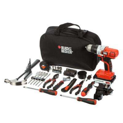 20-Volt MAX Lithium-Ion Cordless Drill and Project Kit with Battery 1.5Ah, Charger and Kit Bag