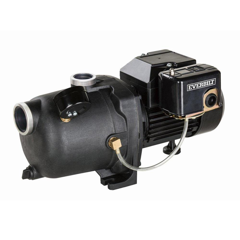 everbilt 1 2 hp shallow well jet pump j100a3 the home depot