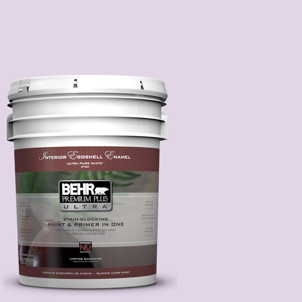 BEHR Premium Plus Ultra 5-gal. #660A-2 Chateau Rose Eggshell Enamel Interior Paint