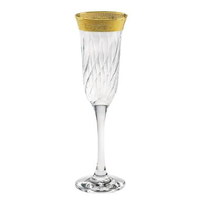 Flutes Melania Collection Gold (Set of 6)