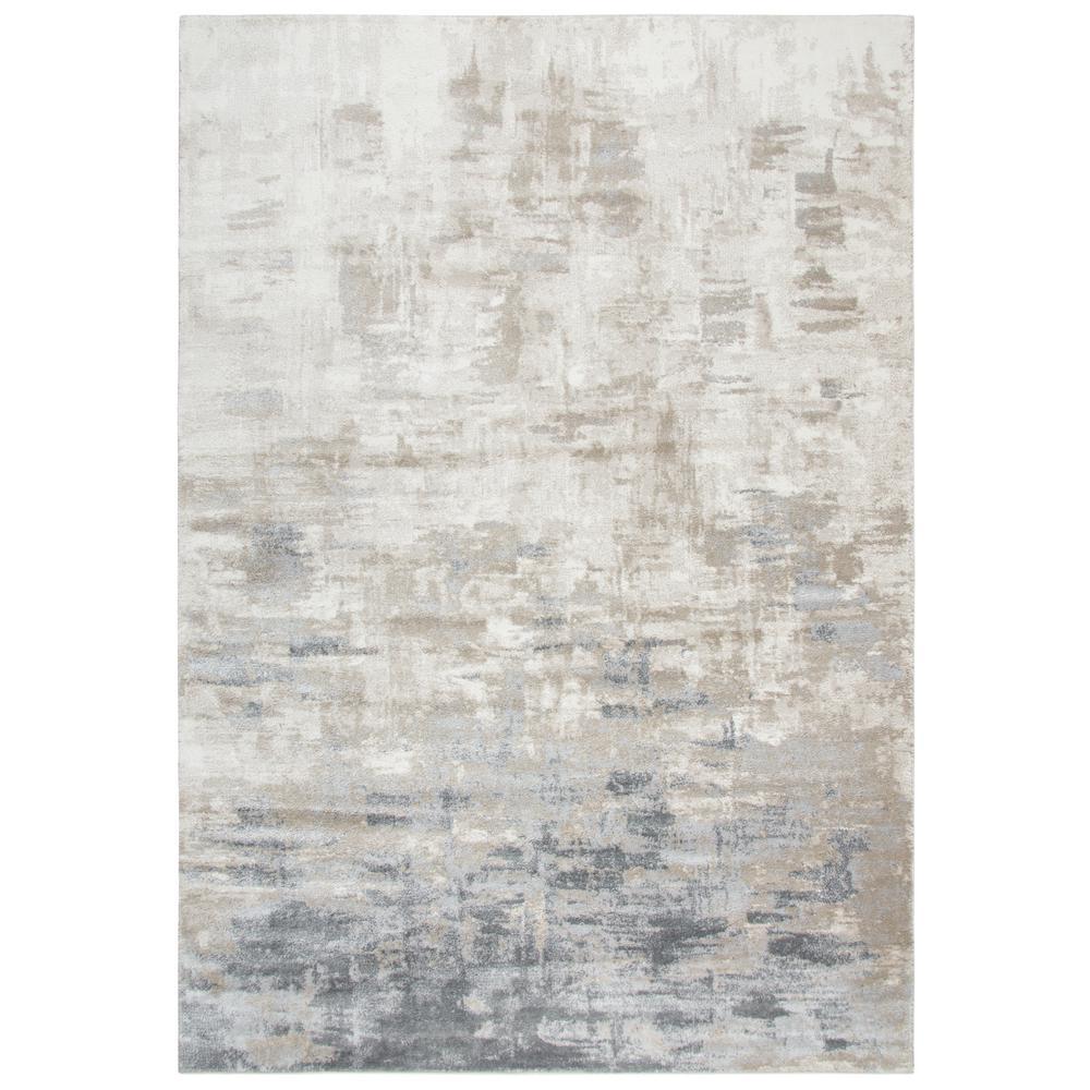 Encore Beige/Gray 5 ft. 2 in. x 7 ft. 3 in. Rectangle Area Rug