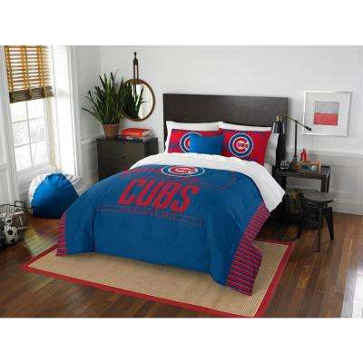 Cubs 3-Piece GrandSlam Multi Full and Queen Comforter Set