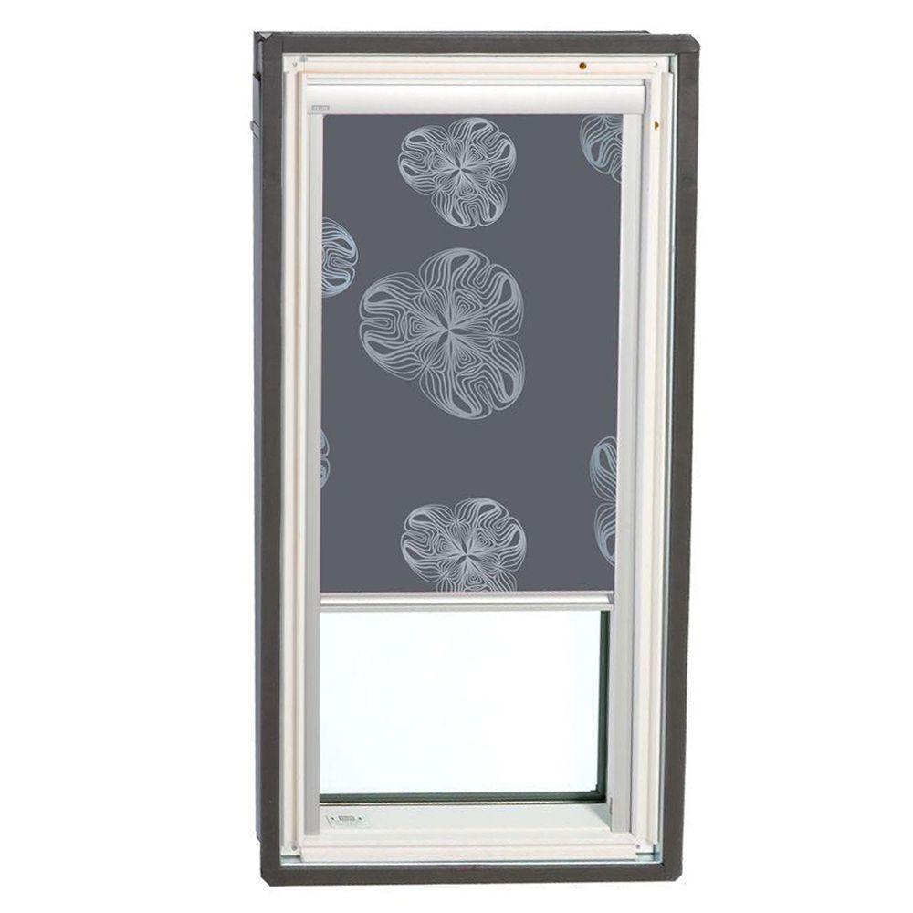 VELUX Nature Metallic Gray Solar Powered Blackout Skylight Blinds for FS S06 Models