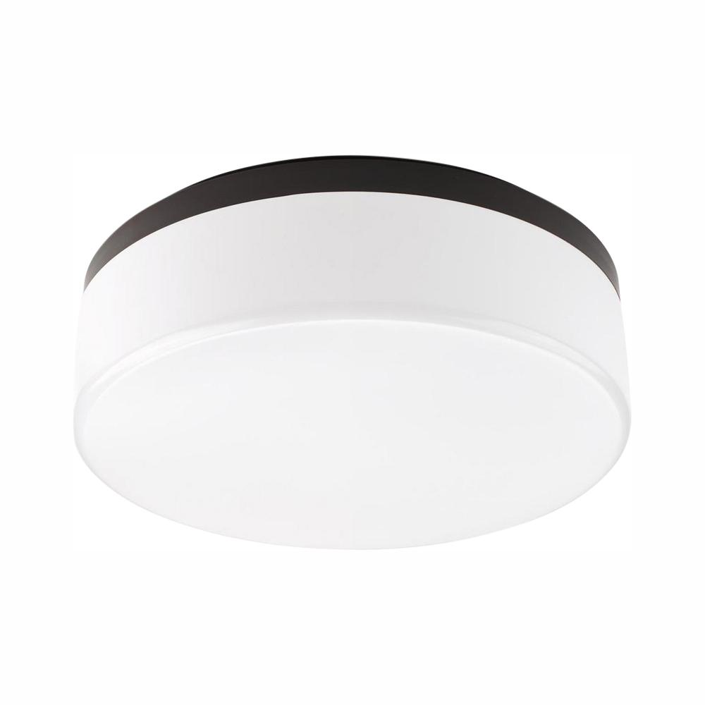 Progress Lighting Maier LED Collection 26-Watt Antique Bronze Integrated LED Flush Mount