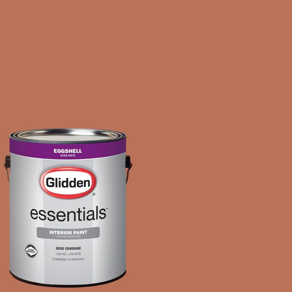 #HDGO21D Amber Coast Eggshell Interior Paint