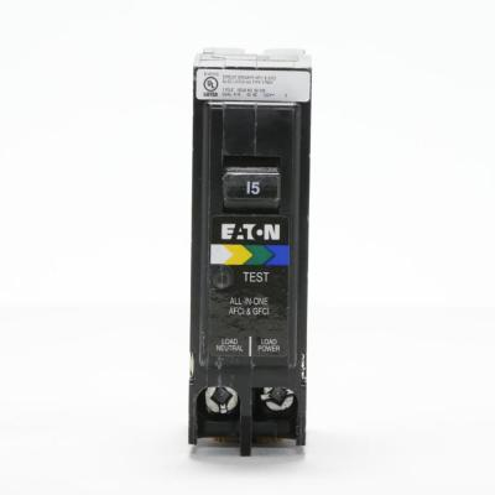 BR 15 Amp All in One AF/GF Plug-On-Neutral Breaker