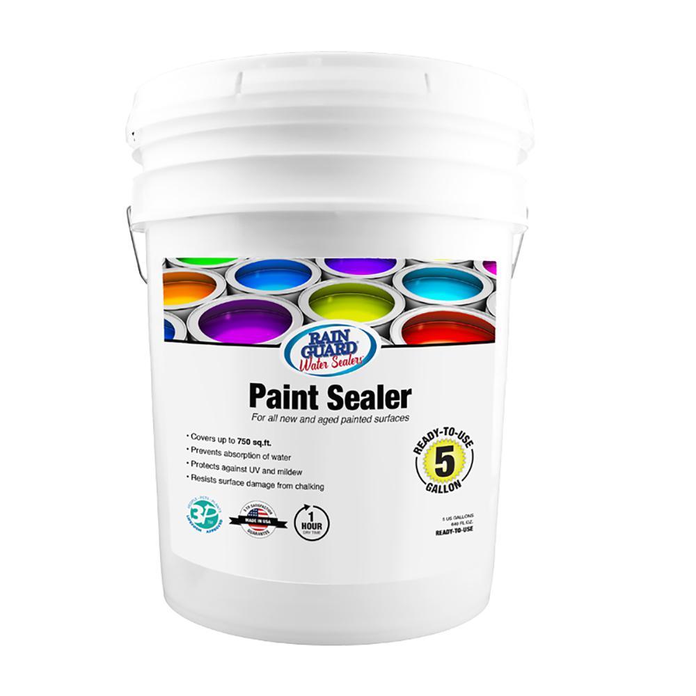 Radonseal Plus 5 Gal Deep Penetrating Concrete Sealer For
