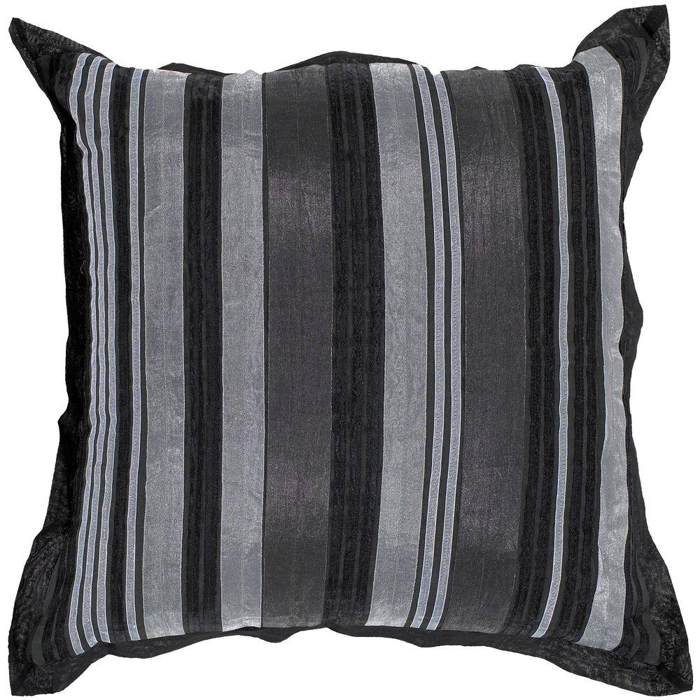 Artistic Weavers StripesD 18 in. x 18 in. Decorative Down Pillow-DISCONTINUED