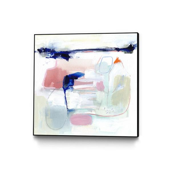 30 in. x 30 in. ''Procida III'' by Victoria Borges Framed Wall Art