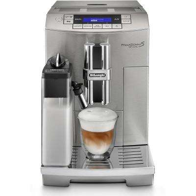 PrimaDonna S Deluxe Automatic Beverage Espresso Machine in Stainless Steel