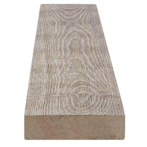1 in. x 4 in. x 8 ft. Weathered Barn Wood Gray Pine Trim Board