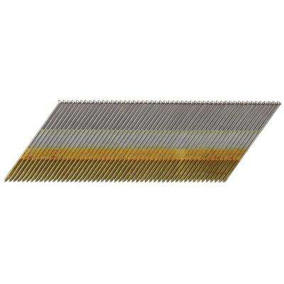 15-Gauge x 2-1/2 in. Galvanized DA Nail 2500 per Box