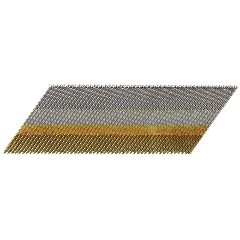 15-Gauge x 2-1/2 in. Galvanized DA Nail 2500 per Box