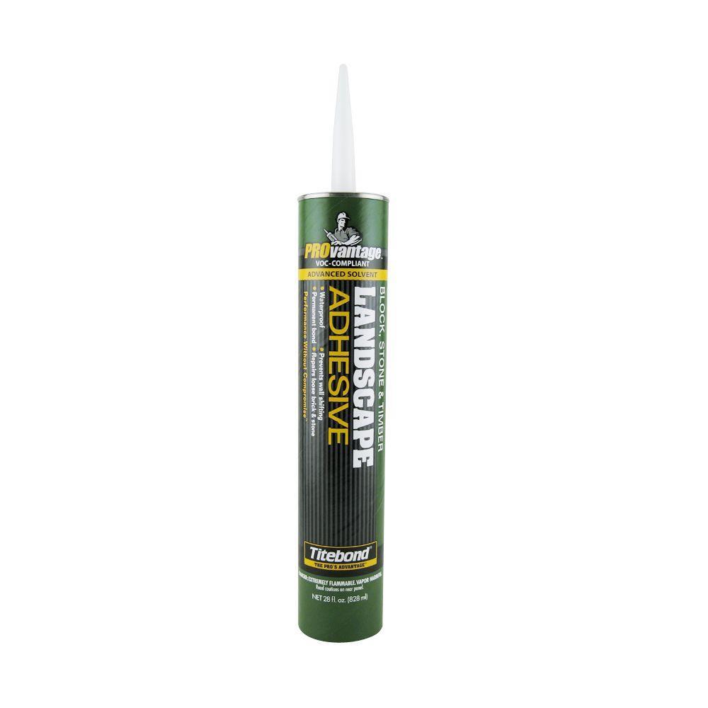 Titebond 28 oz. PROvantage Landscape Adhesive (12-Pack)