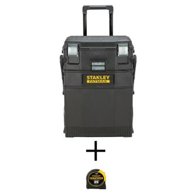 22 in. 4-in-1 Cantilever Mobile Tool Box with Bonus 25 ft. FATMAX Tape Measure