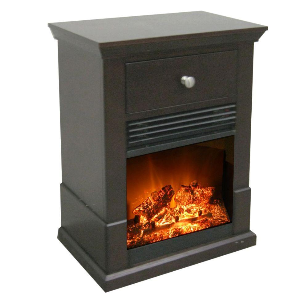 Estate Design Easton 20 in. Electric Fireplace in Espresso-DISCONTINUED