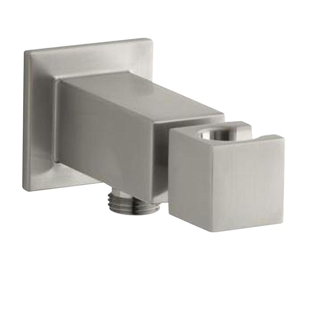 KOHLER Loure Wall-Mount Metal Handshower Holder in Vibrant Brushed Nickel